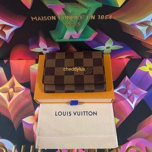 🟤🤎🟫 Authentic Louis Vuitton Card Case